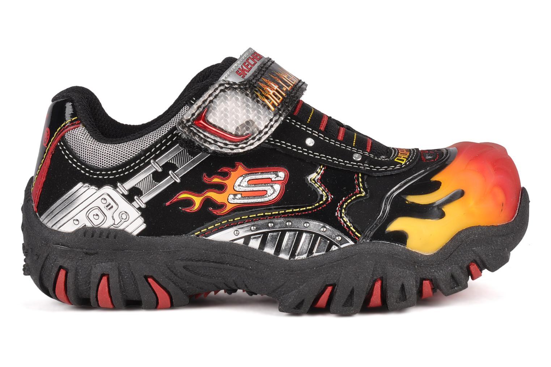 Sneaker Skechers Skx chopper schwarz ansicht von hinten