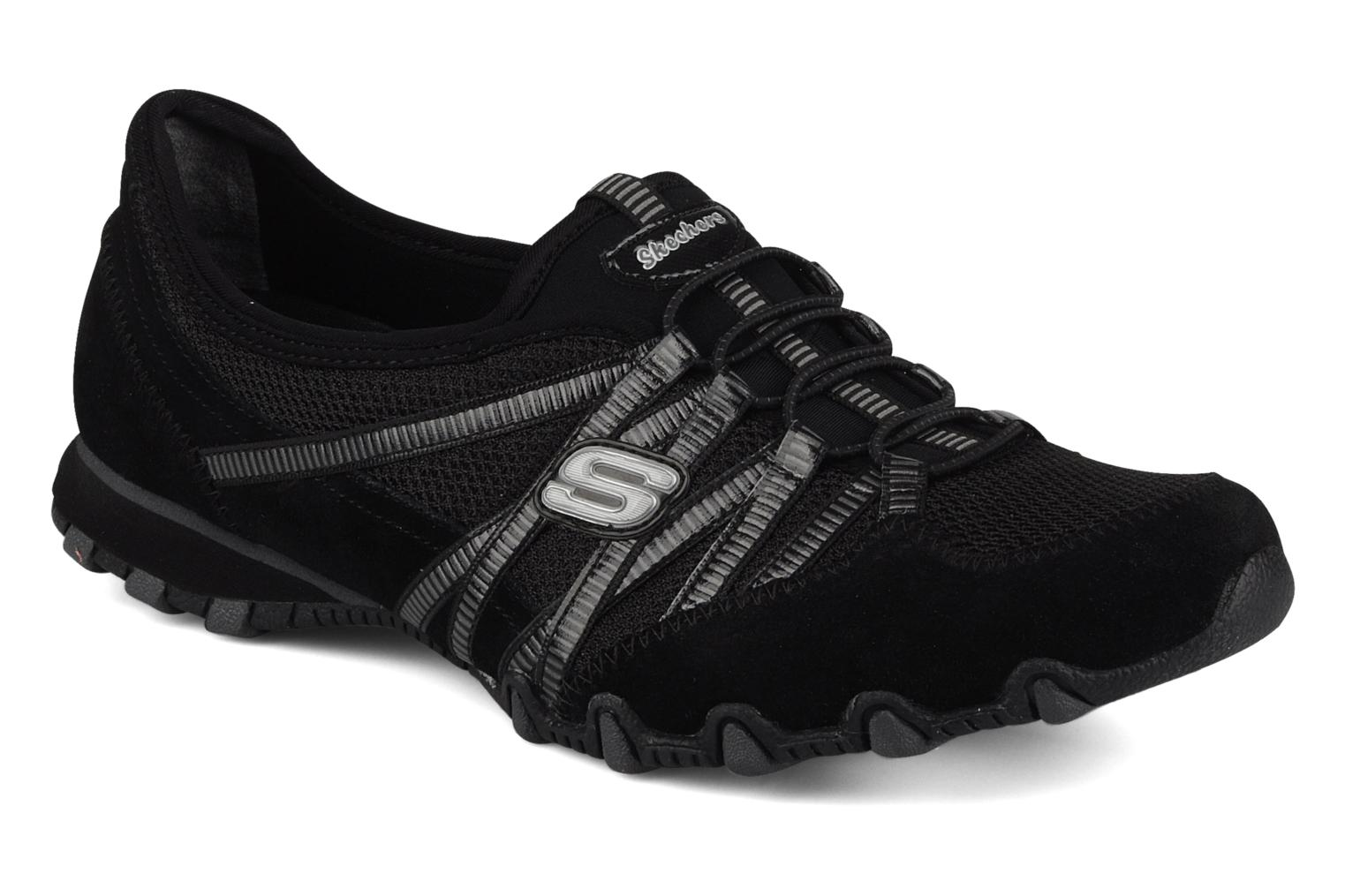 Deportivas Skechers Hot-ticket 21159 Negro vista de detalle / par