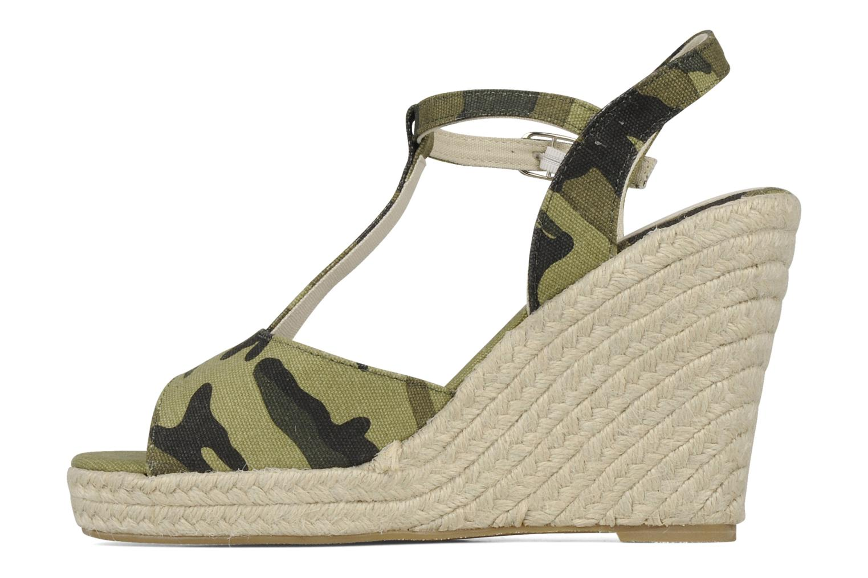Sandali e scarpe aperte Georgia Rose Uly Verde immagine frontale