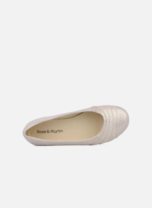Ballet pumps Rose & Martin Tasha Pink view from the left
