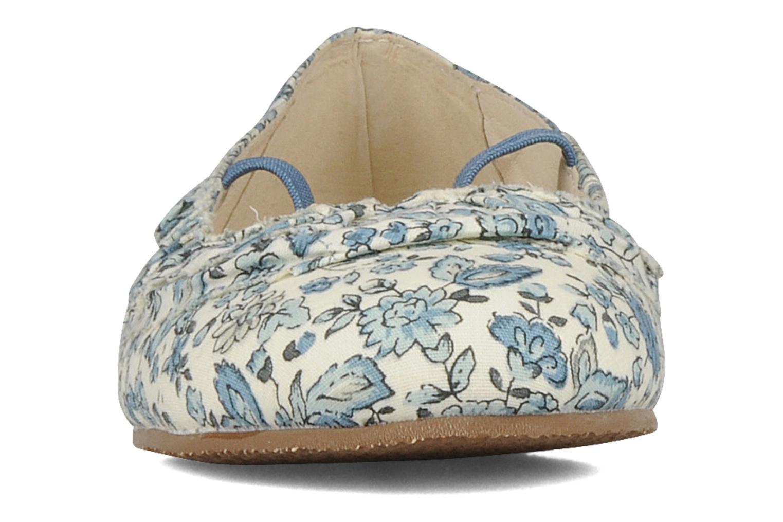 Ballerines Rose & Martin Jadem Bleu vue portées chaussures