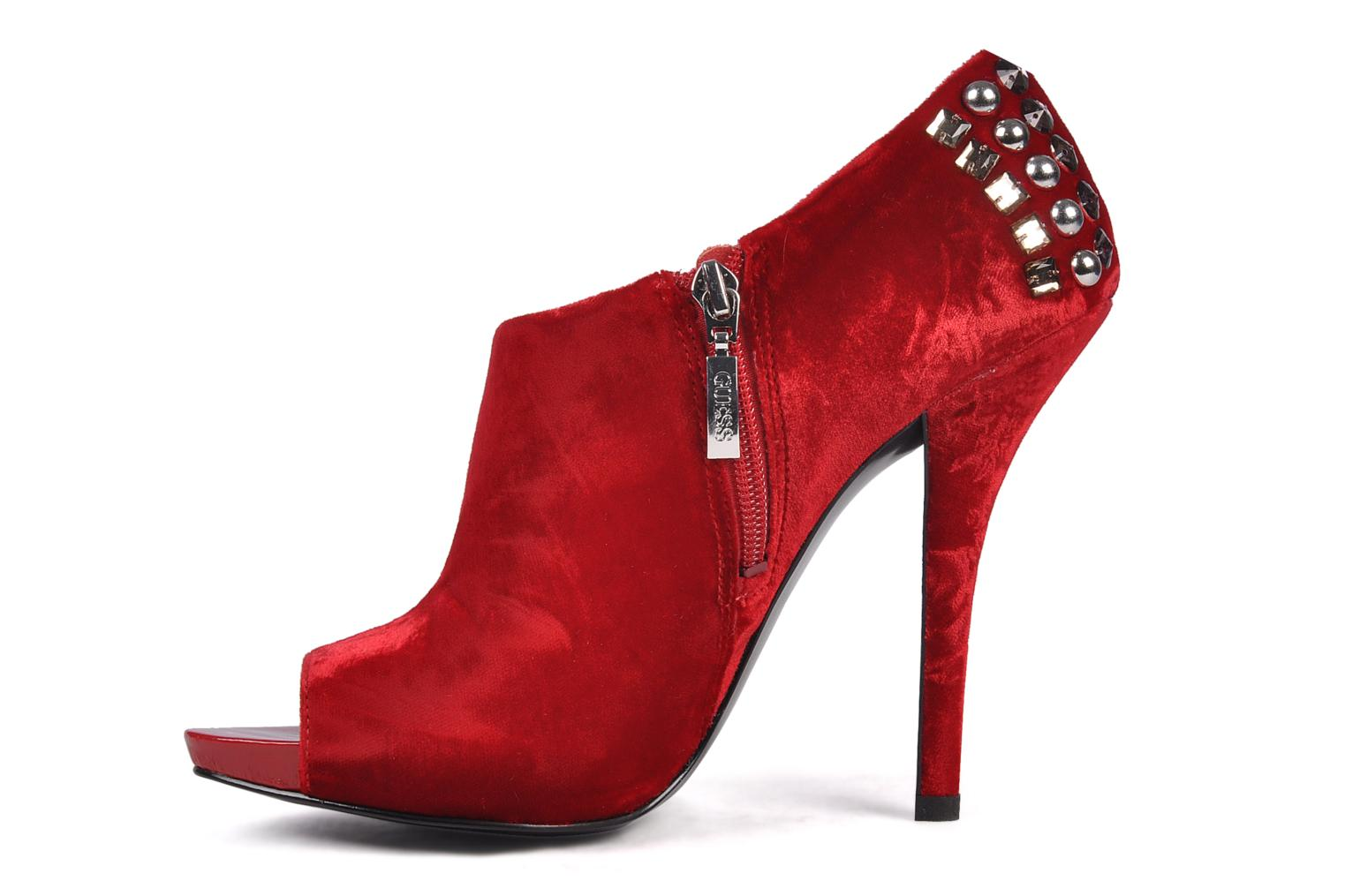 Ankle boots Guess Trynt Red front view