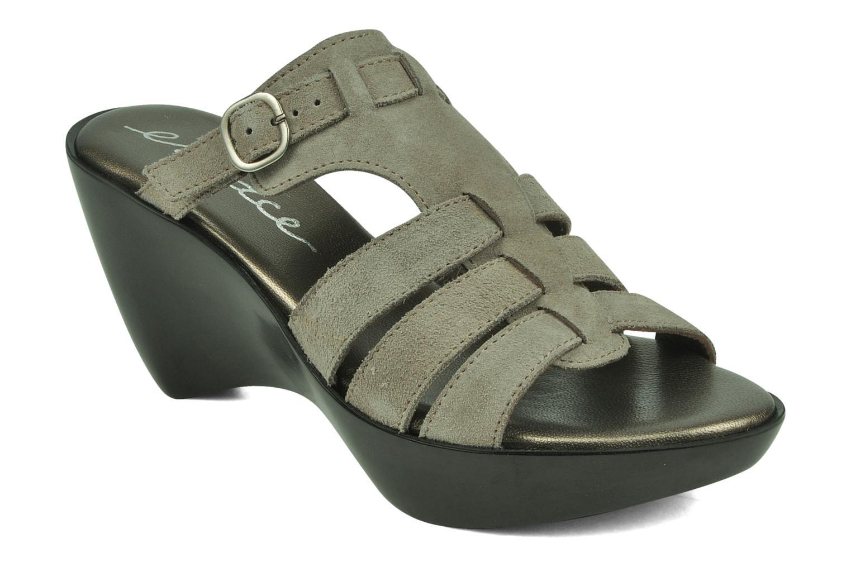 Sandales et nu-pieds Espace Angie Gris vue détail/paire