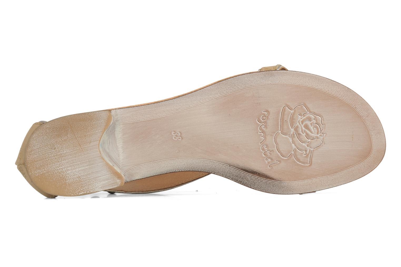 Sandales et nu-pieds Rosemetal Taylor Beige vue haut