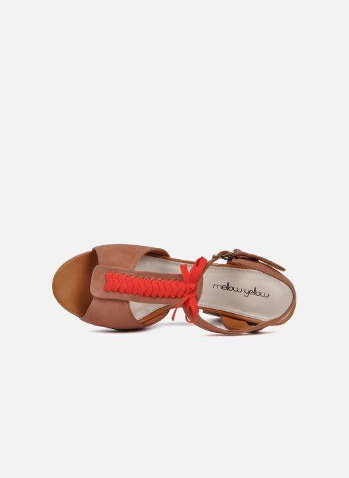 Sandales et nu-pieds Mellow Yellow Jo Marron vue gauche