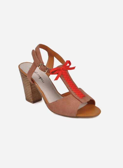 Sandales et nu-pieds Mellow Yellow Jo Marron vue détail/paire