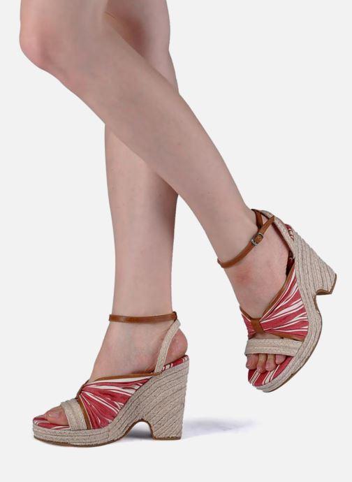 Sandales et nu-pieds Mellow Yellow Jasper Rouge vue bas / vue portée sac