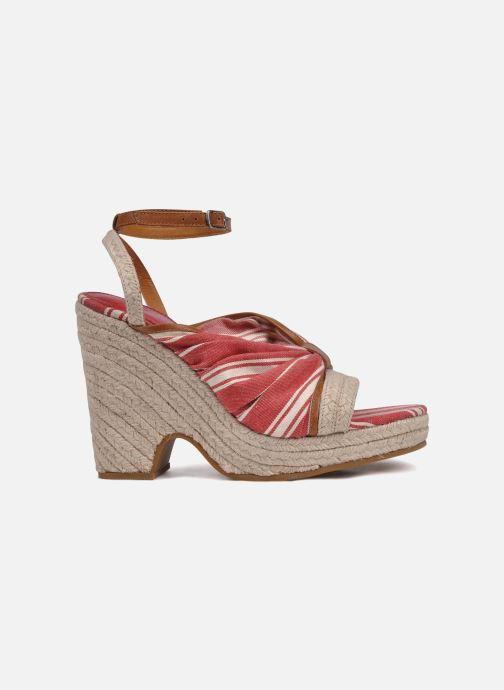 Sandales et nu-pieds Mellow Yellow Jasper Rouge vue derrière