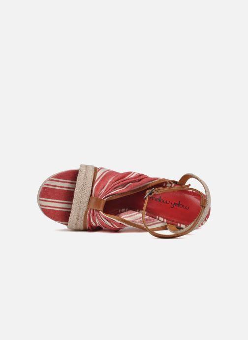 Sandales et nu-pieds Mellow Yellow Jasper Rouge vue gauche