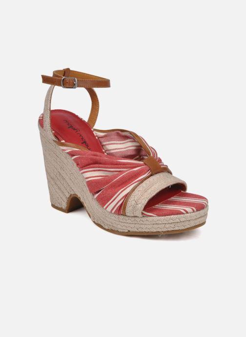 Sandales et nu-pieds Mellow Yellow Jasper Rouge vue détail/paire