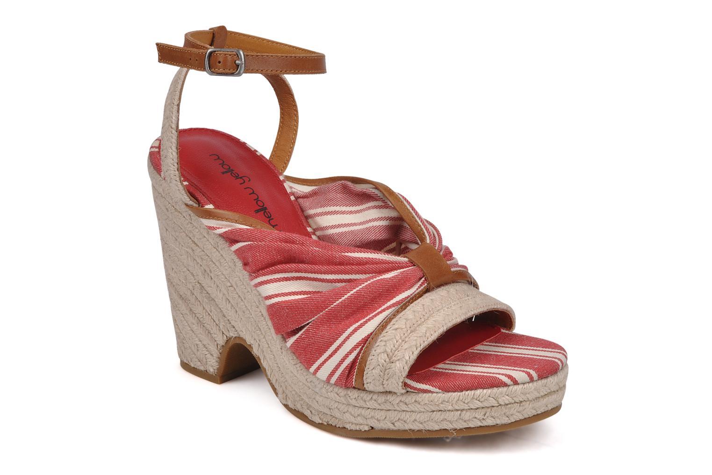 Sandaler Mellow Yellow Jasper Rød detaljeret billede af skoene