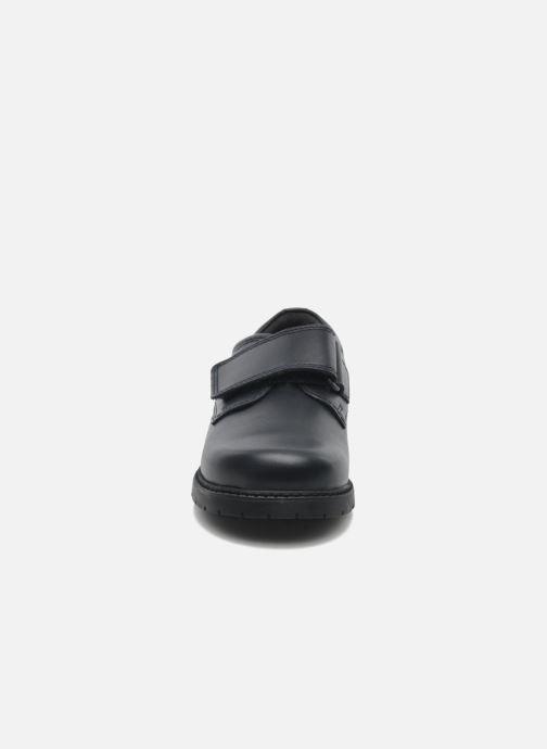 Chaussures à scratch Start Rite Will Bleu vue portées chaussures