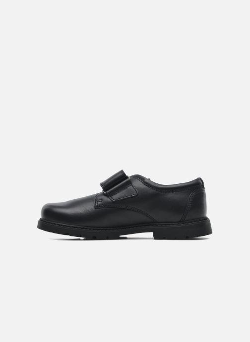 Zapatos con velcro Start Rite Will Azul vista de frente