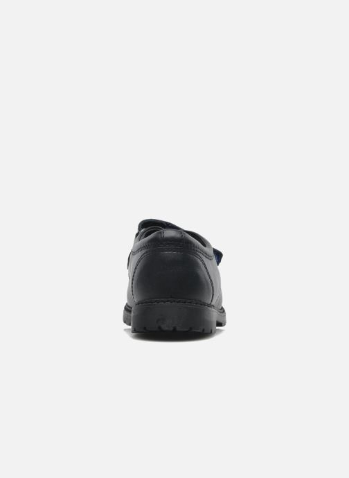 Chaussures à scratch Start Rite Will Bleu vue droite