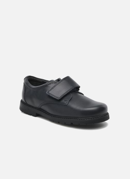 Schoenen met klitteband Start Rite Will Blauw detail
