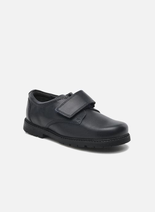 Zapatos con velcro Start Rite Will Azul vista de detalle / par