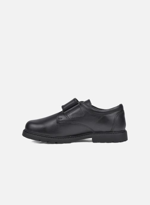 Velcro shoes Start Rite Will Black front view