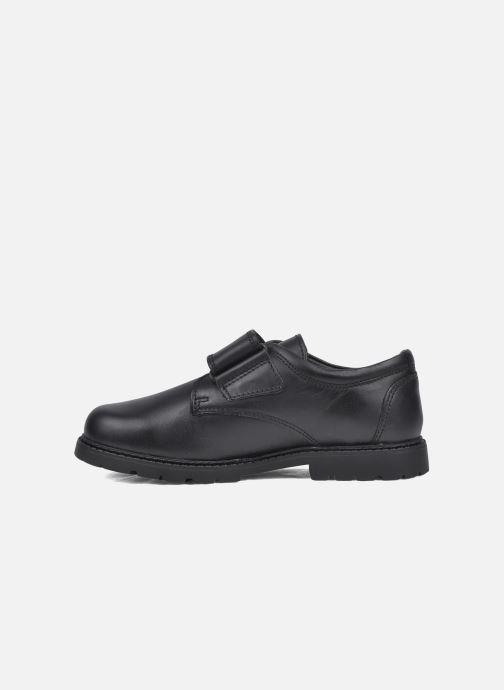 Zapatos con velcro Start Rite Will Negro vista de frente