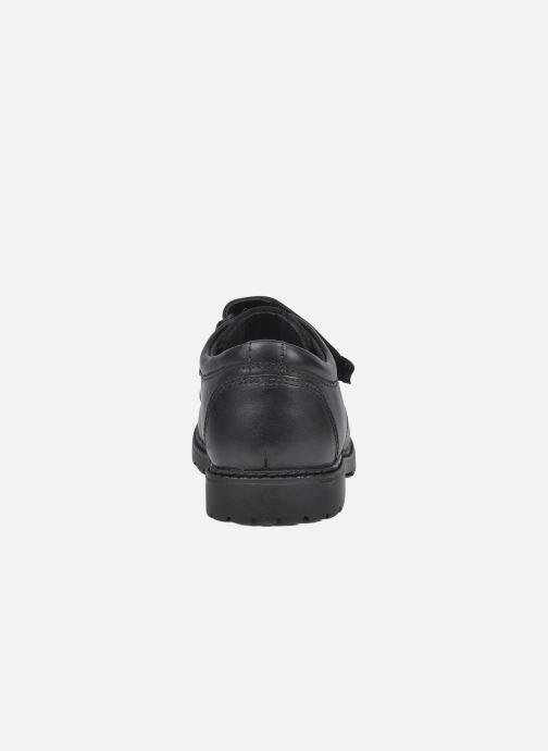 Zapatos con velcro Start Rite Will Negro vista lateral derecha