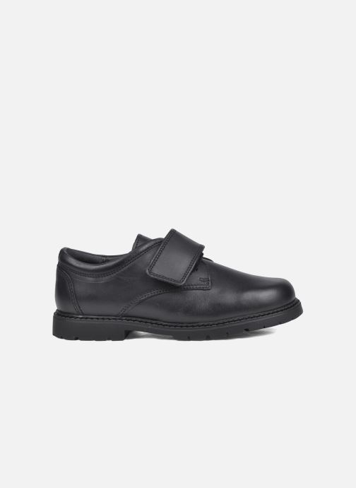 Zapatos con velcro Start Rite Will Negro vistra trasera