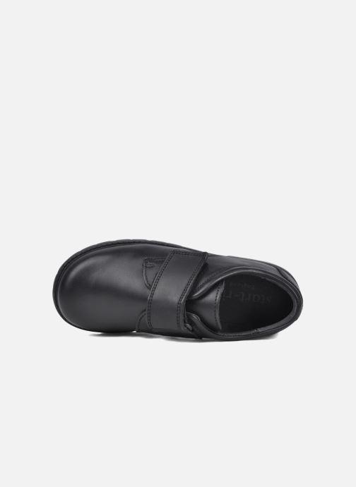 Zapatos con velcro Start Rite Will Negro vista lateral izquierda