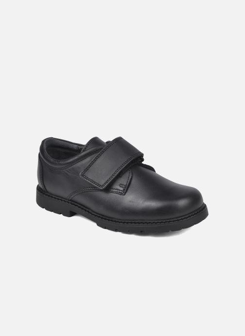 Schoenen met klitteband Start Rite Will Zwart detail