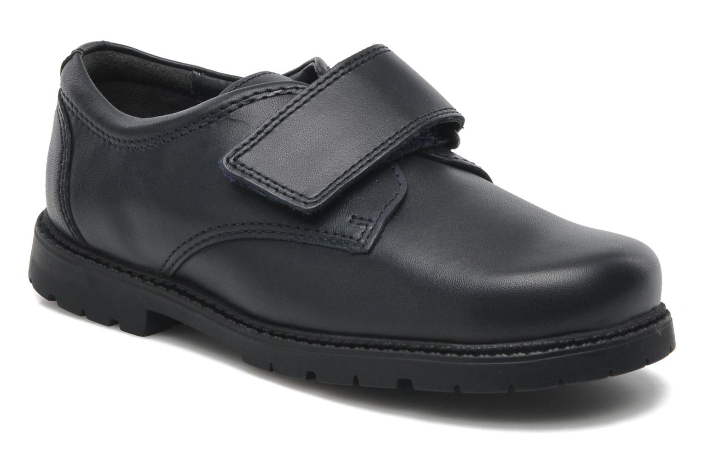 Chaussures à scratch Start Rite Will Bleu vue détail/paire