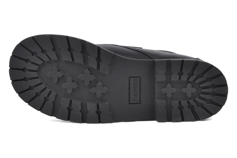 Chaussures à scratch Start Rite Will Noir vue haut