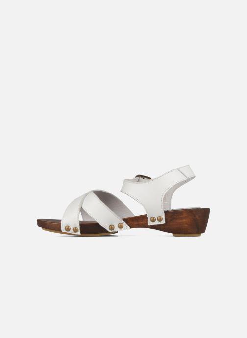Sandals C'Entre Maman & Moi! Wam White front view