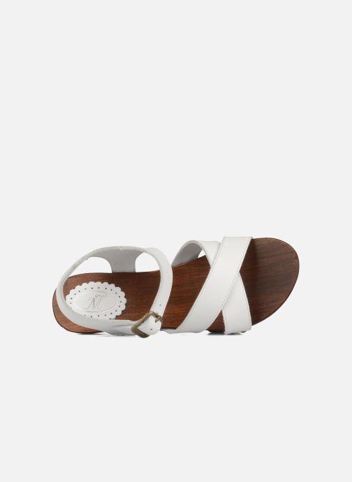 Sandales et nu-pieds C'Entre Maman & Moi! Wam Blanc vue gauche