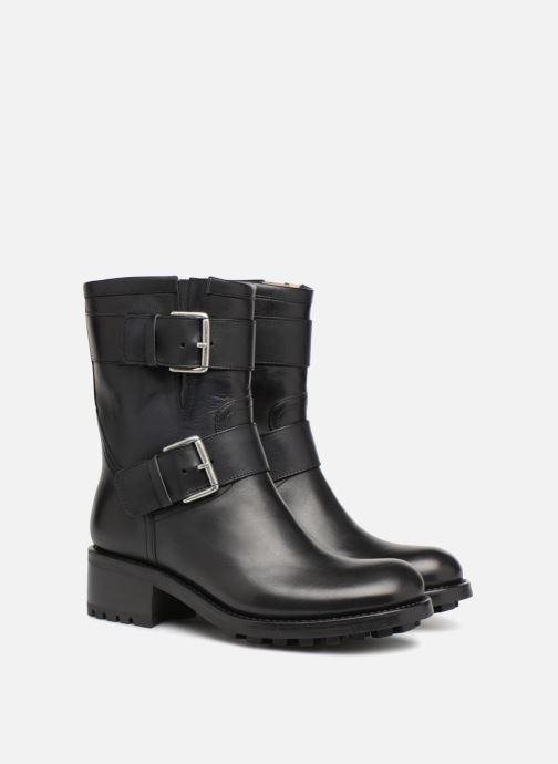 Bottines et boots Free Lance Biker 4 Mini Strap Noir vue 3/4