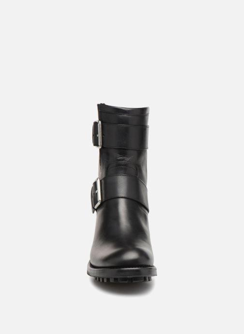 Stiefeletten & Boots Free Lance Biker 4 Mini Strap schwarz schuhe getragen