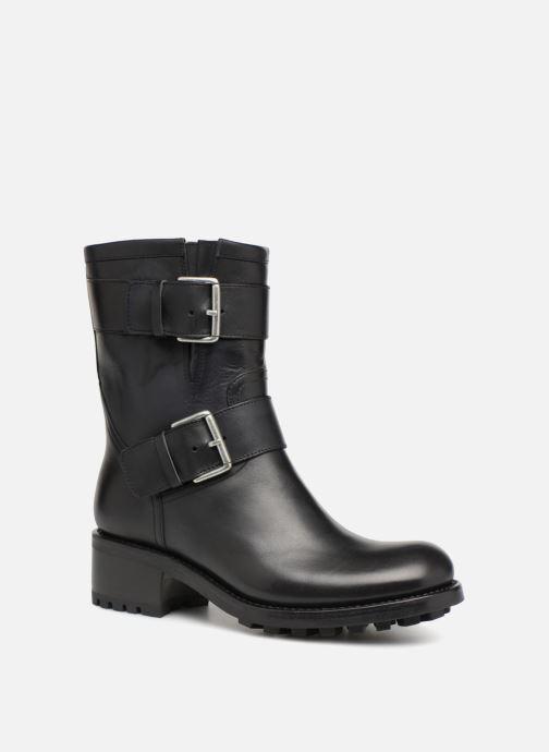Bottines et boots Free Lance Biker 4 Mini Strap Noir vue détail/paire