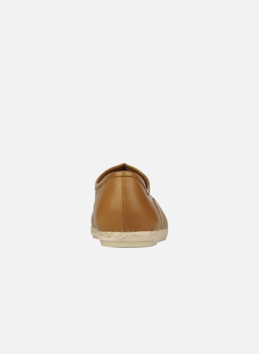 Chaussures à lacets Zespà Salhia Marron vue droite