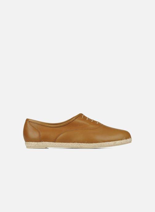 Chaussures à lacets Zespà Salhia Marron vue derrière