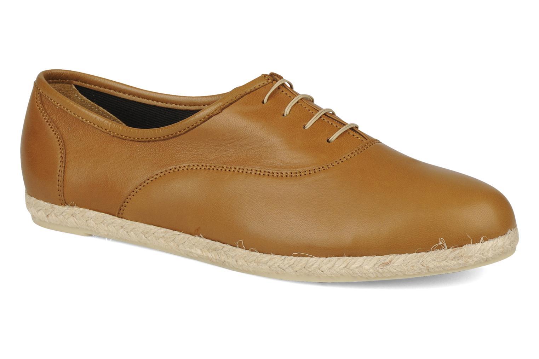 Chaussures à lacets Zespà Salhia Marron vue détail/paire