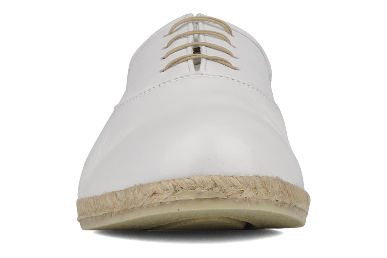 Chaussures à lacets Zespà Salhia Blanc vue portées chaussures