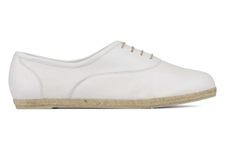 Chaussures à lacets Zespà Salhia Blanc vue derrière