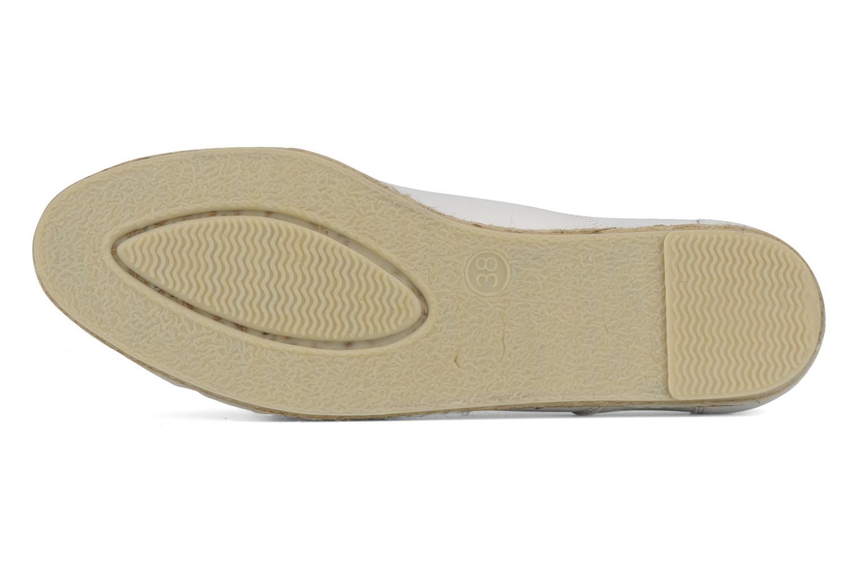Chaussures à lacets Zespà Salhia Blanc vue haut