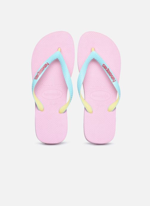 Tongs Havaianas Top Mix F Rose vue 3/4