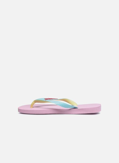 Tongs Havaianas Top Mix F Rose vue face