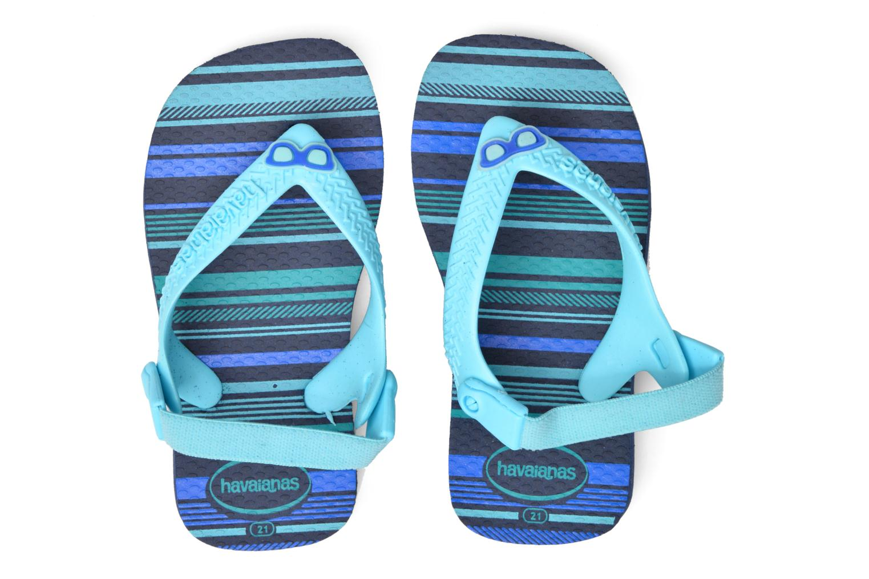Flip flops Havaianas Baby chic Blå 3/4 bild