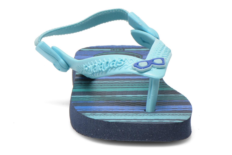 Flip flops Havaianas Baby chic Blå bild av skorna på