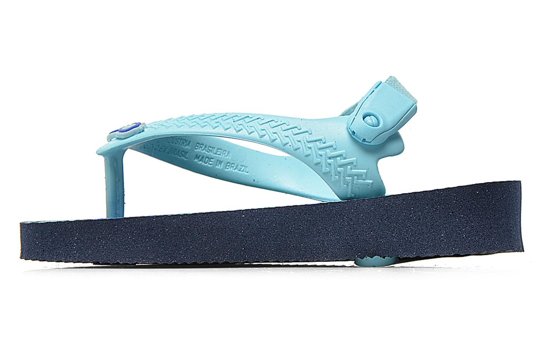 Flip flops Havaianas Baby chic Blå bild från framsidan
