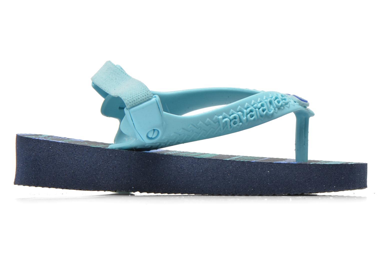Flip flops Havaianas Baby chic Blå bild från baksidan
