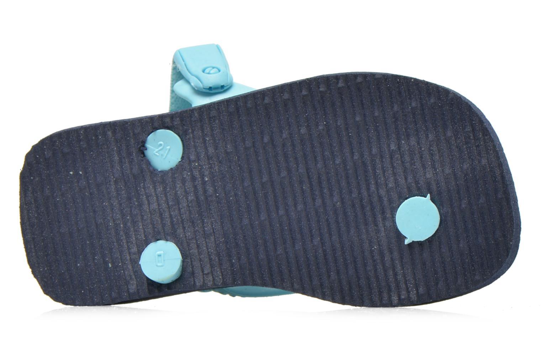 Flip flops Havaianas Baby chic Blå bild från ovan