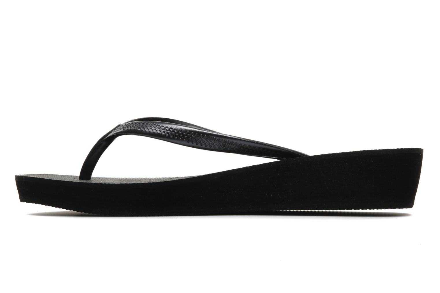 Tongs Havaianas High light F Noir vue face