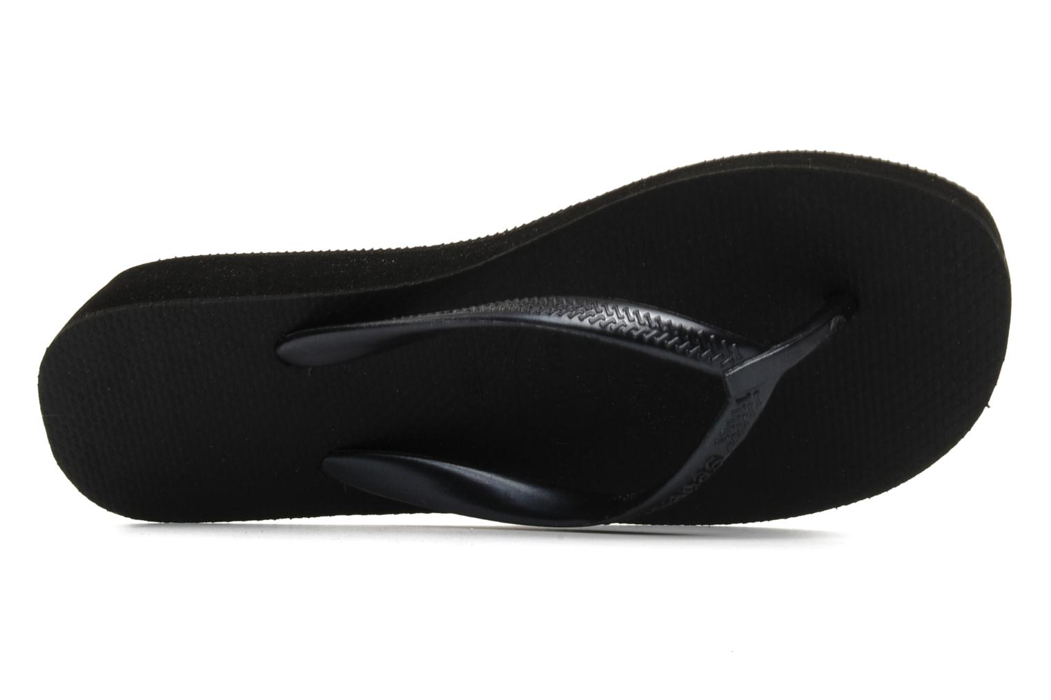 Tongs Havaianas High light F Noir vue gauche