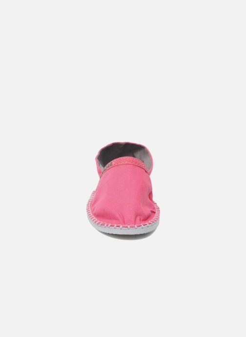 Espadrilles Havaianas Origine W Rose vue portées chaussures