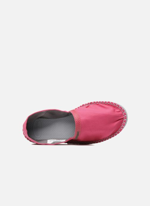 Espadrilles Havaianas Origine W Pink view from the left